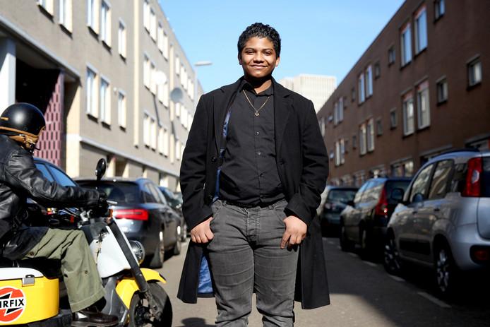 Gabriel Gomes Barros is de oprichter van de politieke partij Jong Rotterdam. Hij is 18 jaar.