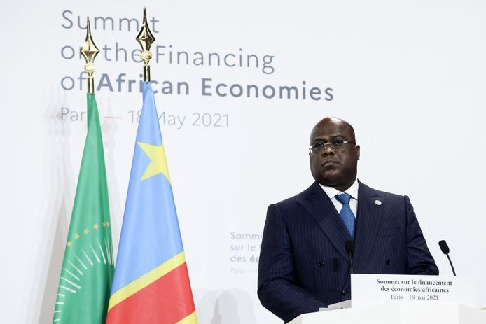Congolese president Félix-Antoine Tshisekedi Tshilombo.