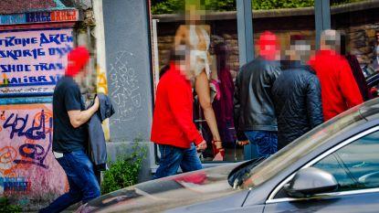 IN BEELD: Betogen doe je ook in de rosse buurt