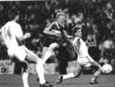 In 1987 schakelde PSV het Turkse Galatasaray uit in aanloop naar de Europa Cup 1-winst van een jaar later. Hier Ronald Koeman in de thuiswedstrijd, die PSV met 3-0 won. Uit was het billenknijpen, maar was een 2-0 nederlaag niet desastreus.