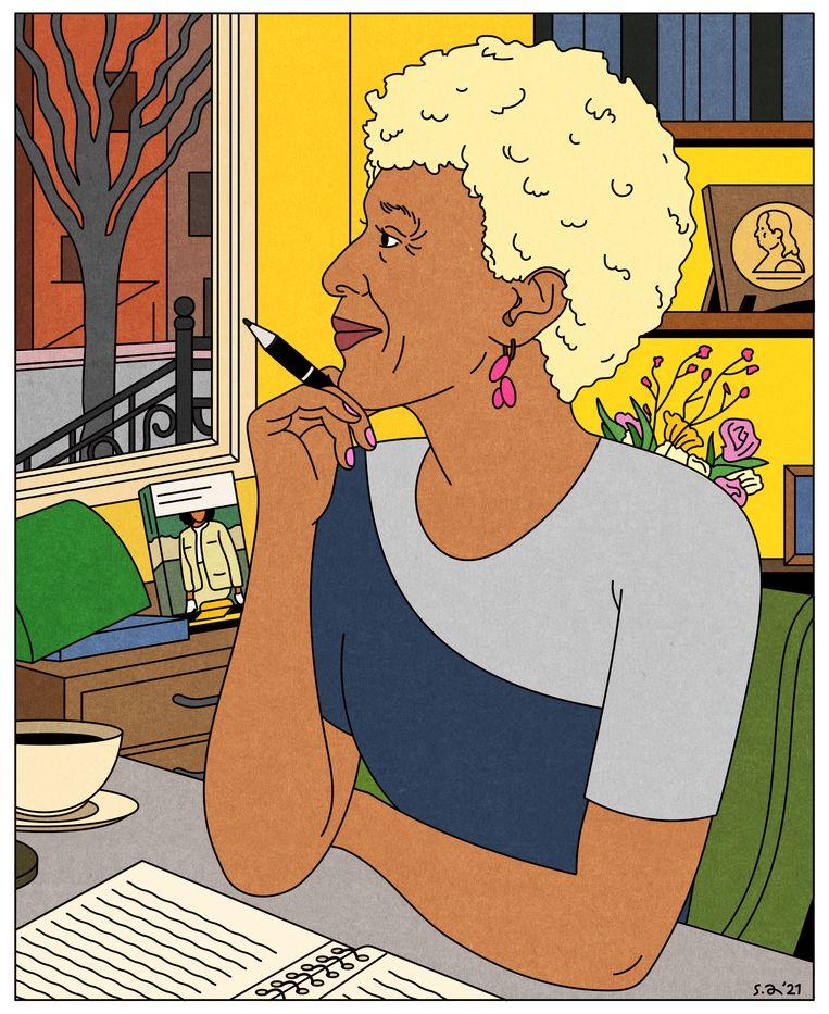 Margo Jefferson worstelde ten tijde van de burgerrechtenbeweging met haar bevoorrechte opvoeding.  Beeld Seb Agresti