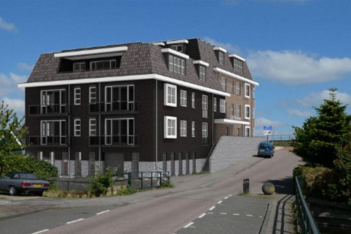 In het te bouwen complex komen volgens de huidige plannen dertien gelijkvloerse (koop)appartementen voor senioren