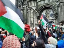 Environ 1.000 personnes rassemblées pour la Palestine à Gand, 450 à Anvers