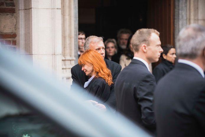 Begrafenis Roland Demal.