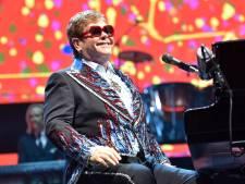 Elton John stelt tournee uit vanwege heupblessure