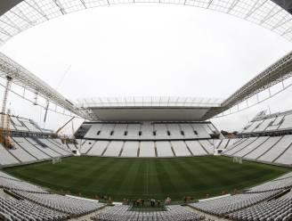 WK-stadion Sao Paulo raakt niet klaar voor testmatch