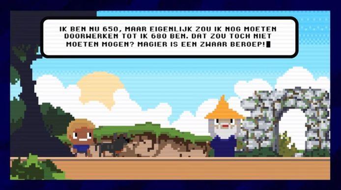 Beeld uit Keezer's Quest.