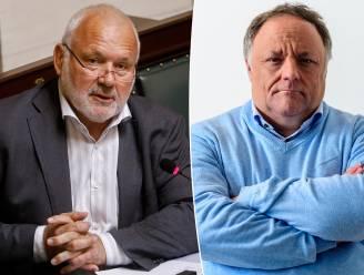 """Jean-Marie Dedecker en Marc Van Ranst in bitsig debat: """"Ik ben het beu om bedrogen te worden"""""""