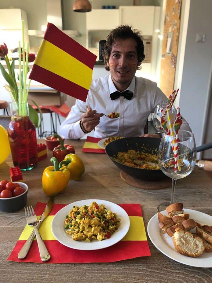 De Spaanse keuken.
