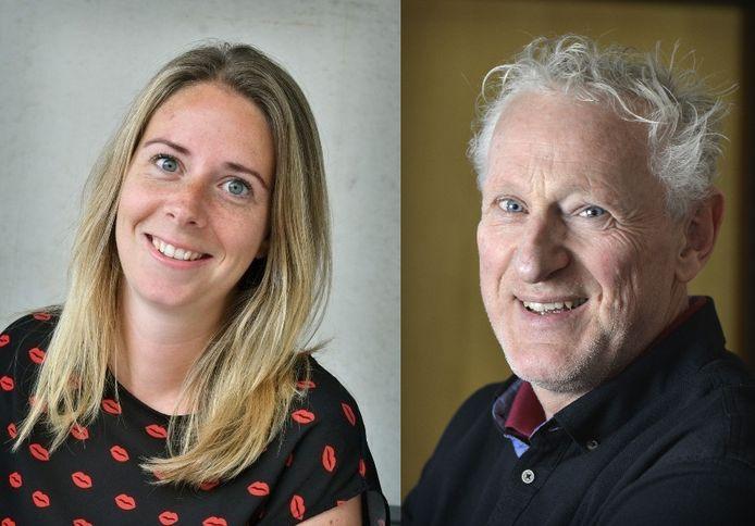 Kelly Adams en Hans Brok gaan in debat