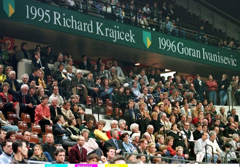 Fans in 1997. Beeld anp
