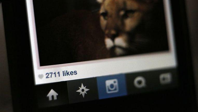 Instagramlikes zijn een gegeerd goed in de hackerswereld. Beeld REUTERS