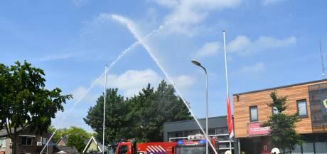 Brandweer staat her en der in Twente stil bij collega's die omkwamen