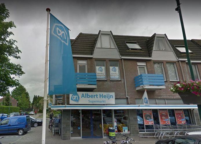 Albert Heijn aan de Burgemeester Magneestraat in Bergeijk.