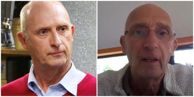 Door corona viel acteur Peter Rouffaer 12 kilo af Beeld VRT/VIER