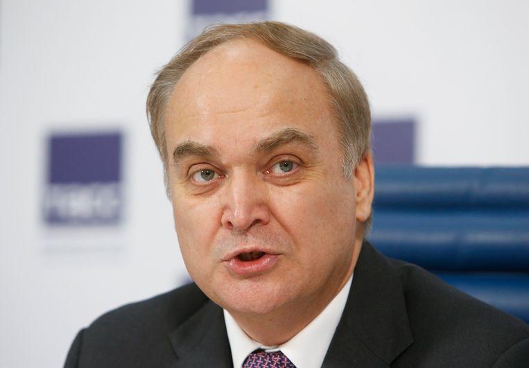 De Russische ambassadeur in Washington, Anatoli Antonov Beeld Reuters