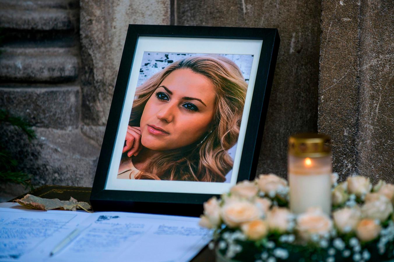 Een foto van de Bulgaarse journaliste Viktoria Marinova