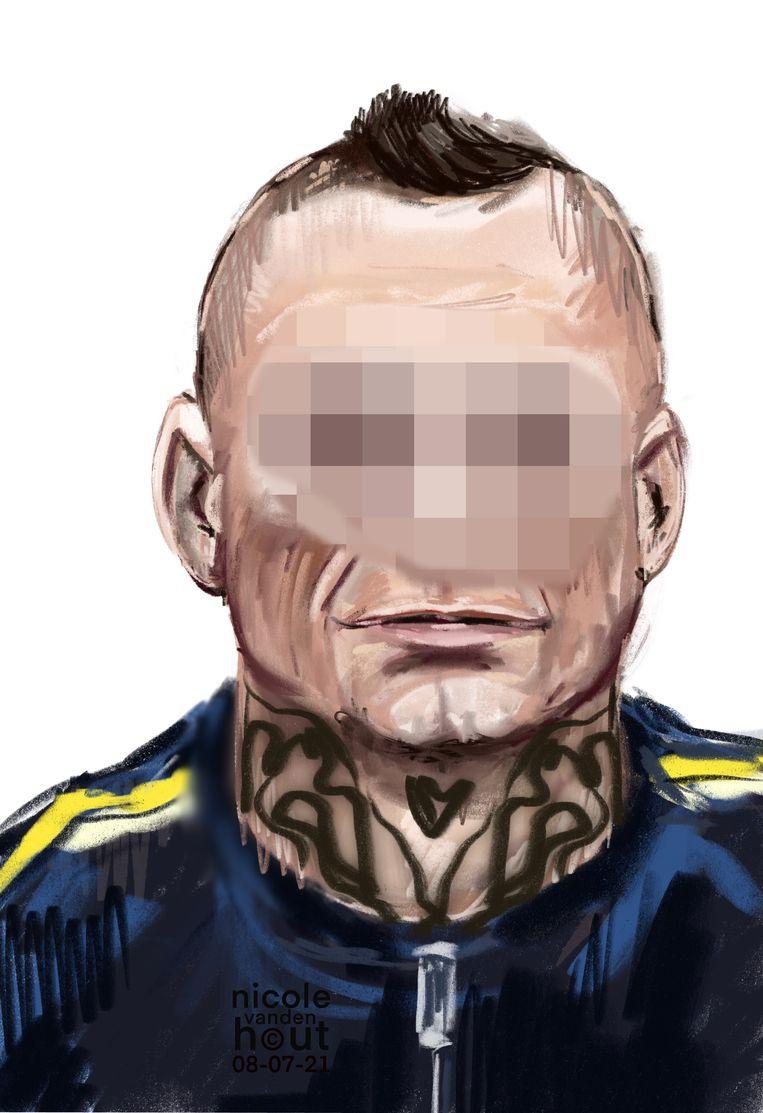 Kamil E. is verdachte van de moordaanslag op Peter R. de Vries. Beeld Nicole van den Hout
