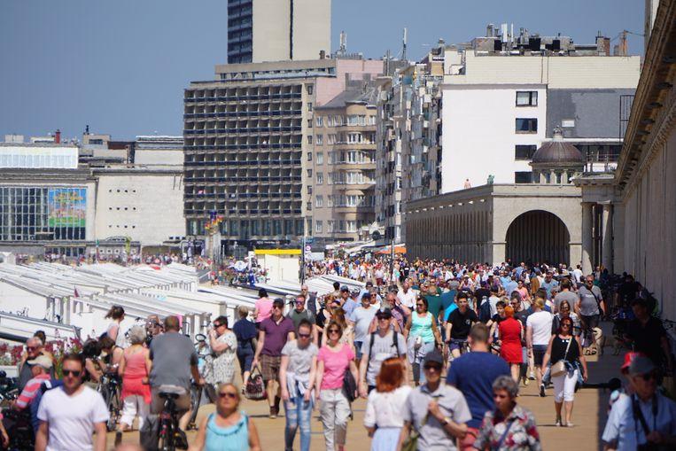 """Ondanks sprake is van enkele hittegolven, spreekt Westtoer van een """"normale Belgische zomer""""."""