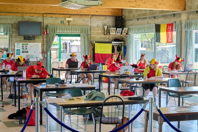 Red Challenge Bierbeek Studenten kantine Bierbeek