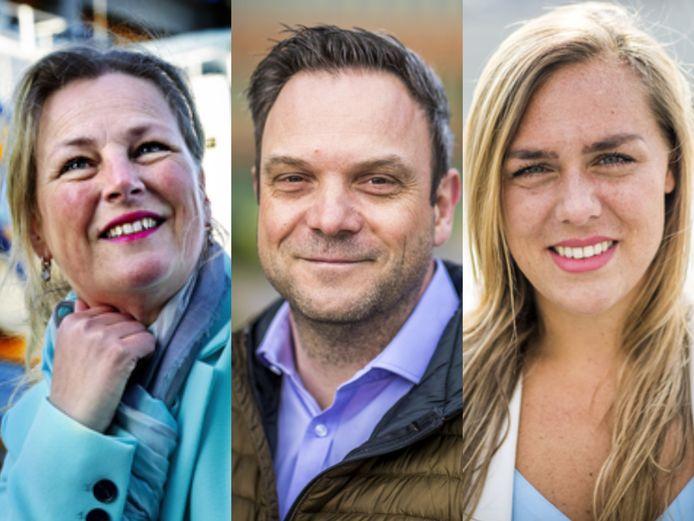 Zij springen bij in de zorg: Susan Verlinden, Guus Cruijsberg en Seira Plum