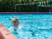 Een pruillipje, want zonder zwemdiploma mag je niet in het diepe zwemmen