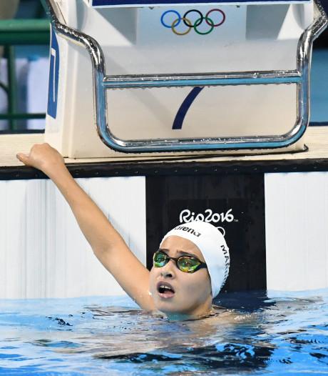 Yusra ontvluchtte Syrië en haalde de Spelen: 'Nooit meer zwemmen in zee'