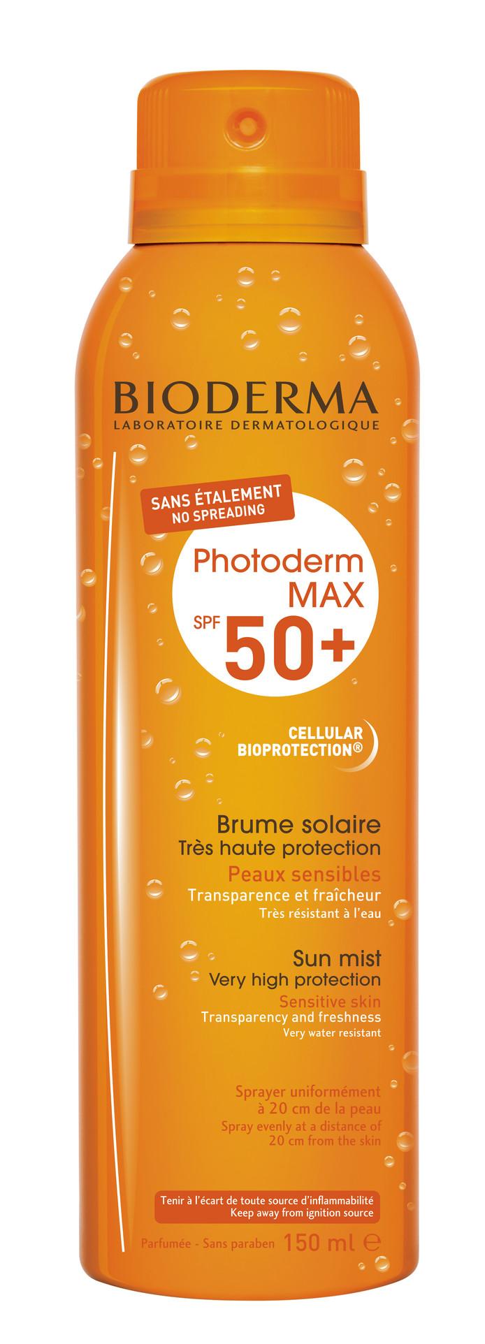 Photoderm Brum SPF50 - 24,65 euros. Disponible en pharmacie et parapharmacie.