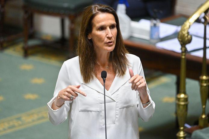 Minister van Buitenlandse Zaken Sophie Wilmès.