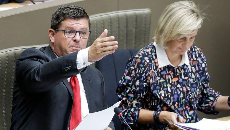 Vlaams minister van Energie Bart Tommelein