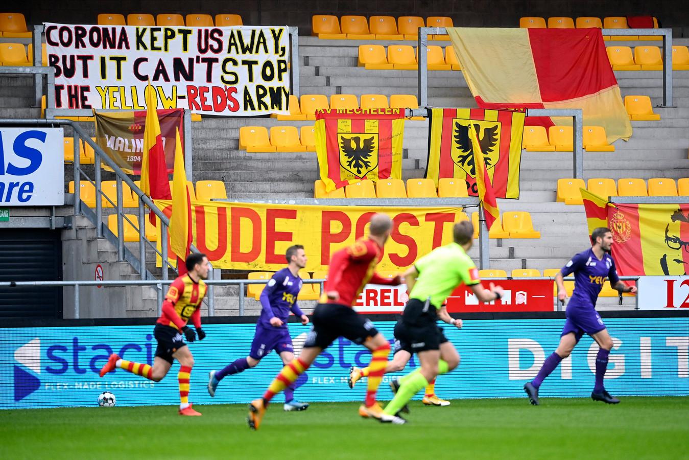 De abonnementenverkoop gaat hard bij KV Mechelen.