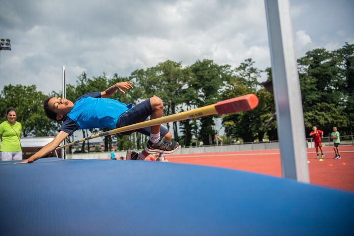 VILVOORDE, BELGIUM, on Augustus 05, 2021 Report in the athletics club of Vilvoorde, the club of Noor Vidts during its competition at the tokyo olympic games. Pictured in Vilvoorde, Belgium, on 05/08/2021. ( Photo by Mathieu Golinvaux / Photo News )