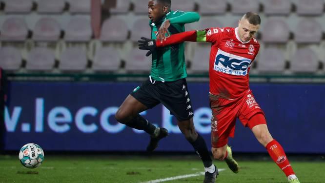 """Timothy Derijck baalt na derde Kortrijkse nederlaag op rij: """"Twee doelpunten weggegeven"""""""