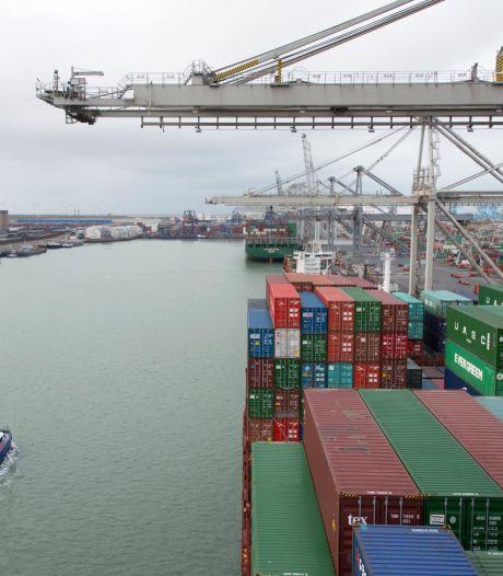 Twaalf verdachten aangehouden in Rotterdamse haven die mogelijk naar drugs zochten