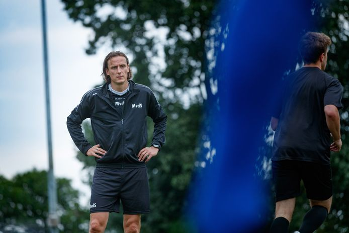 Marcel van der Sloot maakte bij Cluzona de overstap van speler naar hoofdtrainer van de club.