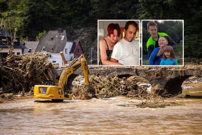 La famille a disparu après les fortes inondations à Ahrbrück.