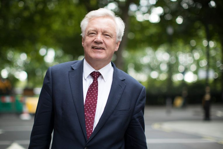 Brexit-secretaris David Davis. Beeld Getty Images