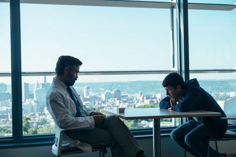 Colin Farrell als hartchirurg Steven. Hij wordt door een tiener voor een gruwelijke keuze gesteld. Beeld rv