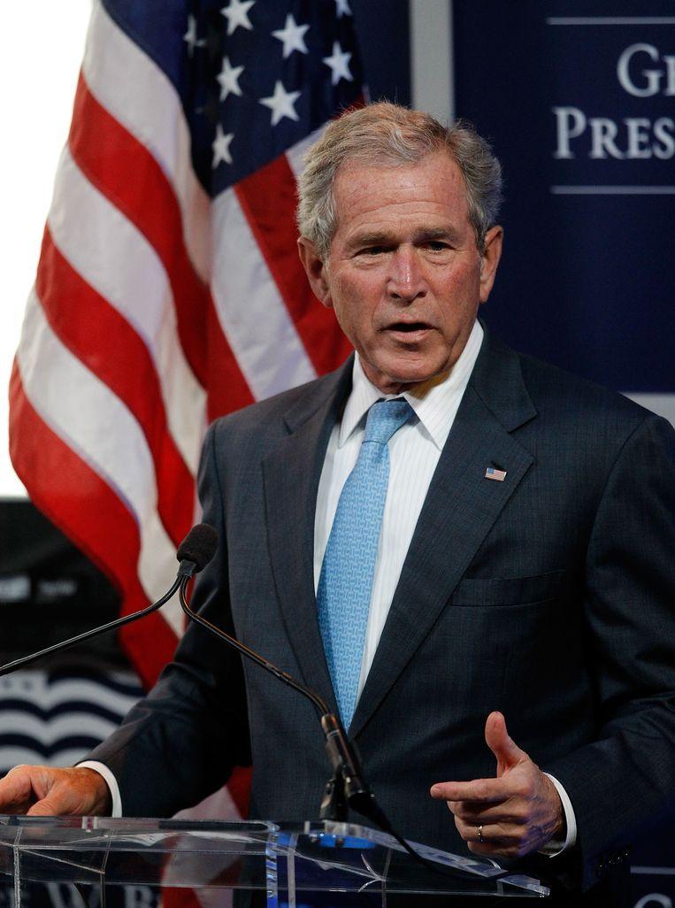 George W. Bush Beeld AFP