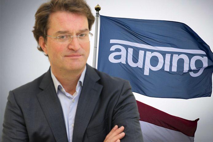 Ceo Jan-Joost Bosman van Royal Auping uit Deventer.