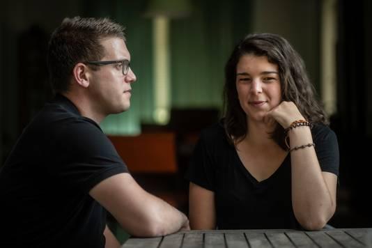 Merlijn Janssen Steenberg maakte samen met Anne Blaauw een film over leven met een angststoornis.