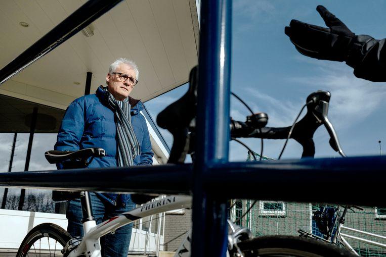 Toon Kerkhof, voorzitter RKVV Erp, raakte een goede vriend kwijt die overleed aan het virus.  Beeld Merlin Daleman