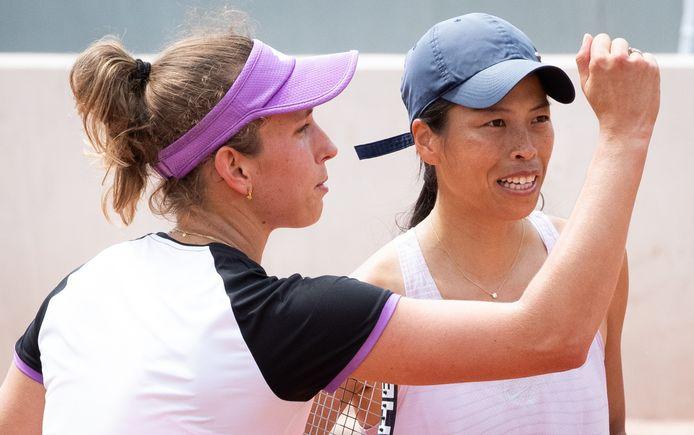 Elise Mertens et Hsieh Su-Wei.