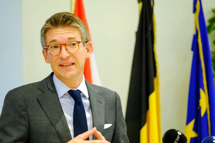Pierre-Yves Dermagne, ministre fédéral de l'Emploi (PS).