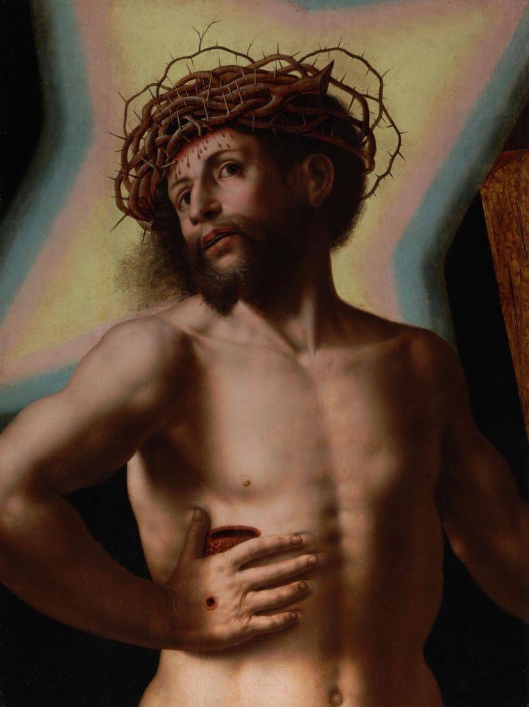 De gerestaureerde Jezusfiguur. Beeld Kunsthandel Bijl-Van Urk
