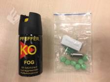 Bredase automobilist betrapt met pepperspray en xtc-pillen op zak
