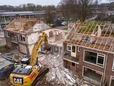 Woningen in Steenwijk tegen de vlakte