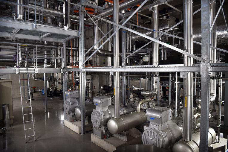 Het nieuwe distributiecentrum van Lidl in Oosterhout (Gelderland). Beeld Marcel van den Bergh / de Volkskrant