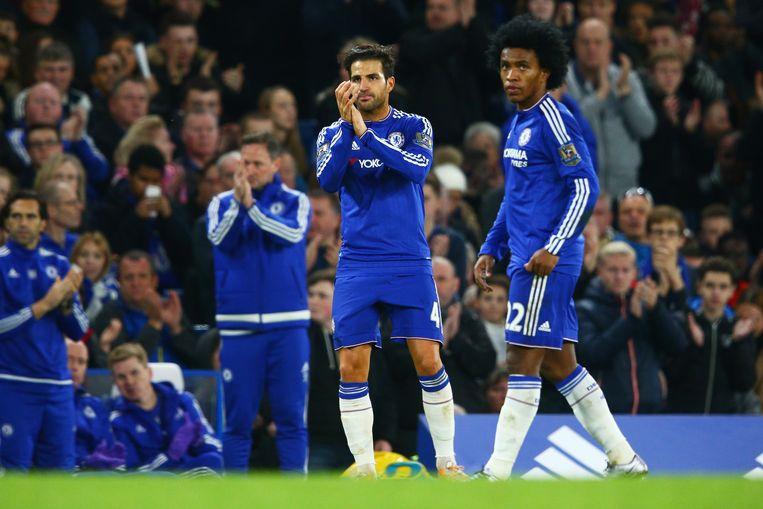 Zaterdag won Chelsea met 3-1 Beeld GETTY