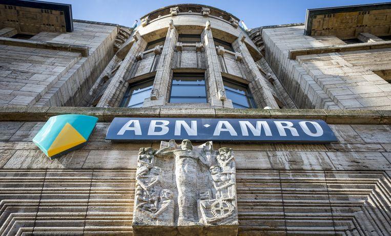 ABN Amro kende afgelopen week een stormloop op de aandelen, vooral door kleine beleggers. Beeld anp